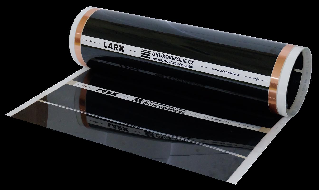 LARX uhlíkové fólie - topná fólie pod podlahu