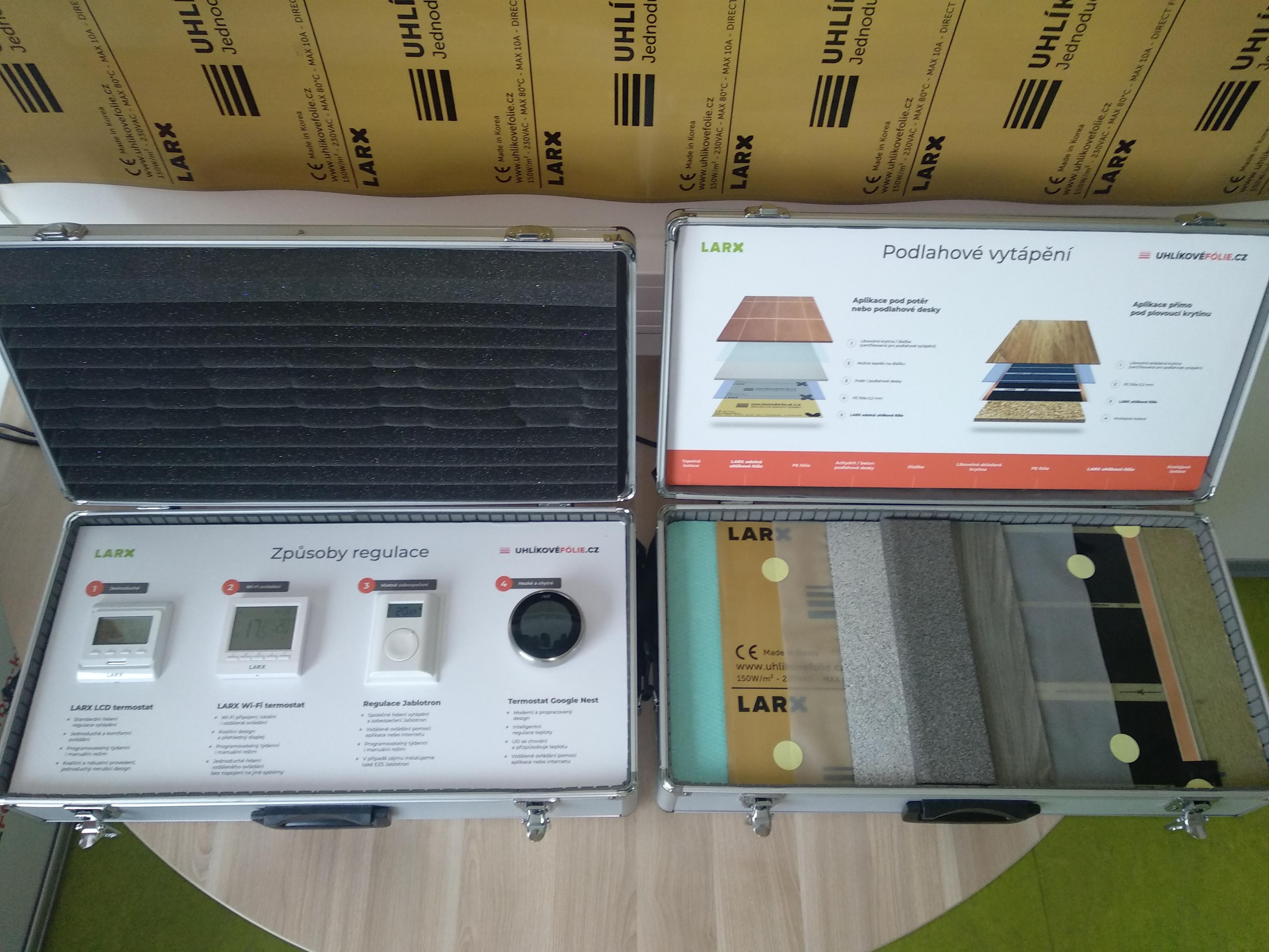 LARX Uhlíkové fólie - demokufry