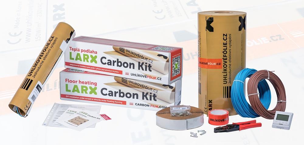 LARX uhlikove folie sortiment