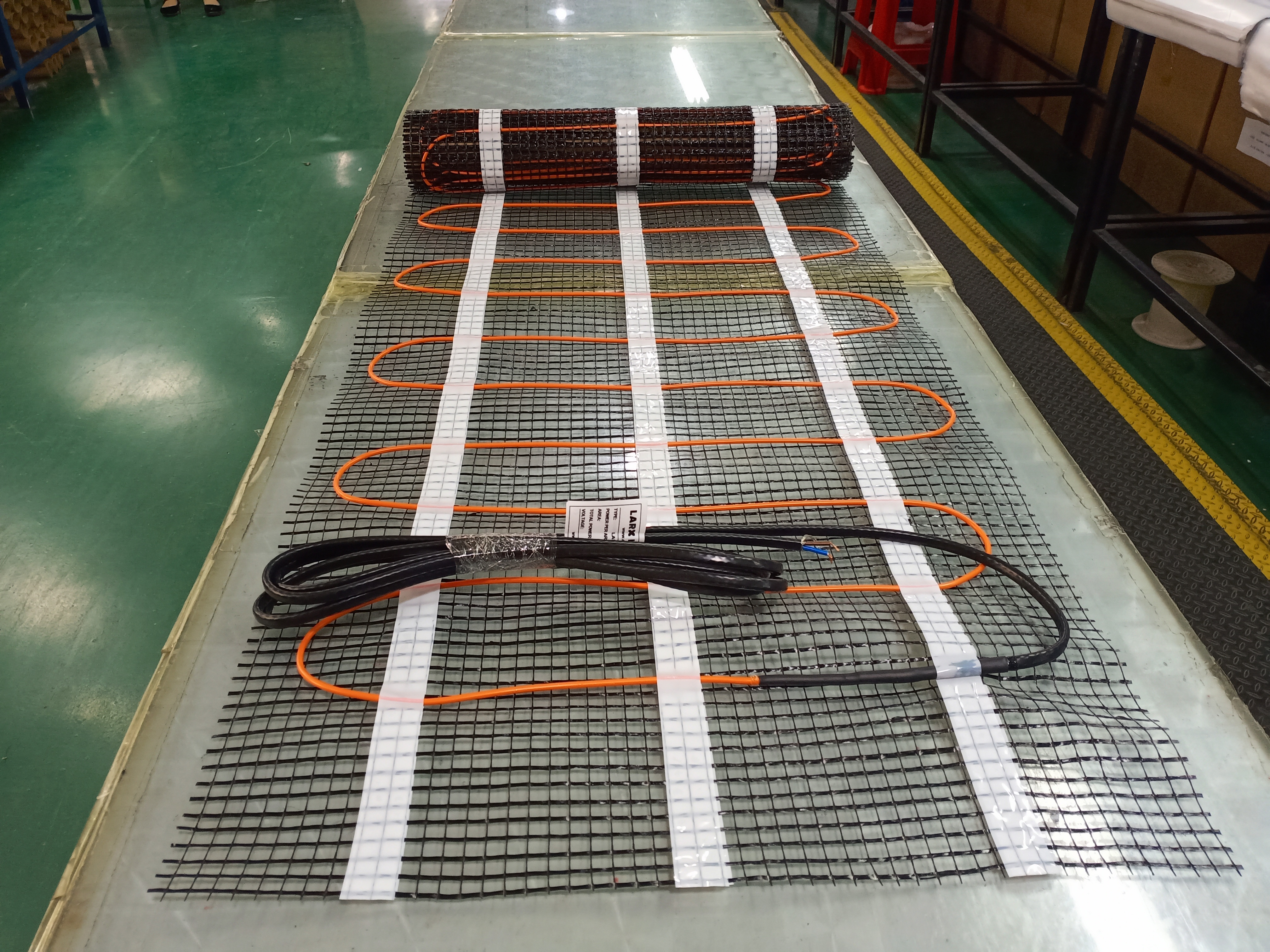 LARX heating mat vyroba